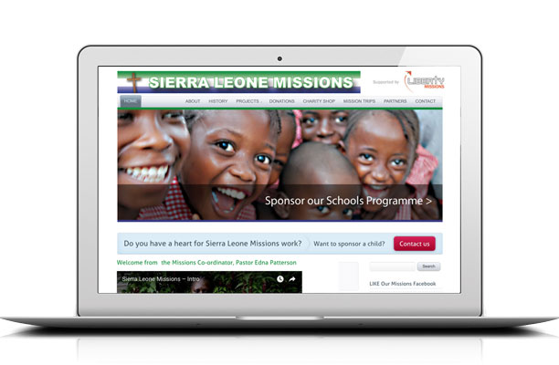 Sierra Leone Missions UK website