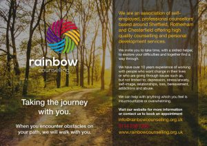 Poster for Rainbow Counselling by Kingdomedia