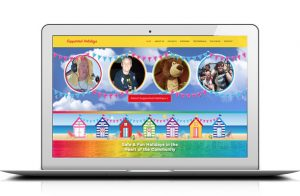 Website creation for Supported Holidays by Kingdom Creative Media UK