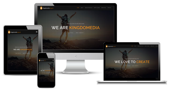 Responsive websites by Kingdomedia
