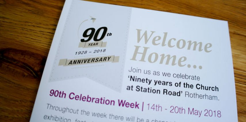 Celebrating 90 years of the church at Station Road