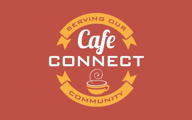 Cafe Connect design and branding by Kingdom Creative Media UK