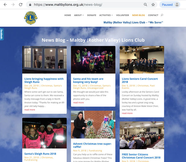 Maltby (Rother Valley) Lions News Blog created and maintained by Kingdom Creative Media UK