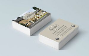 Business Cards as part of branding for Warmglaze Windows, Doors and Conservatories