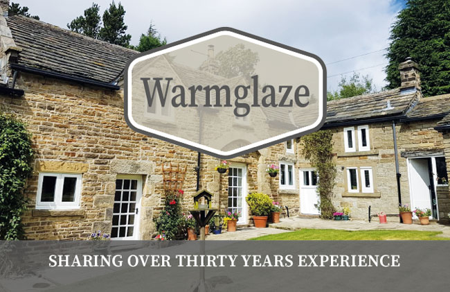 Website launch for Warmglaze Windows, Doors & Conservatories