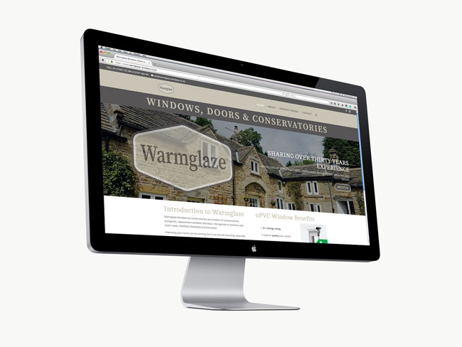 Warmglaze website launch