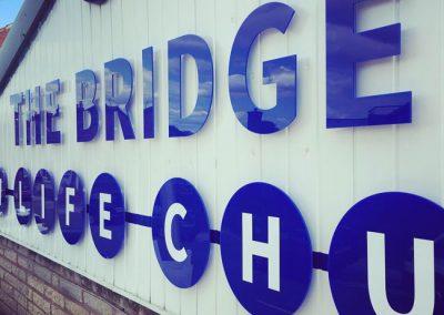 The Bridge, New Life Church Signage