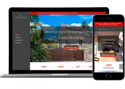 FC Architectural Website