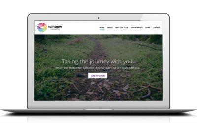 Kingdomedia overhaul Rainbow Counselling Sheffield website