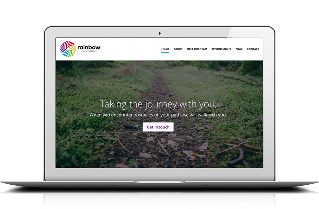 Kingdomedia overhaul Rainbow Counselling Sheffield website