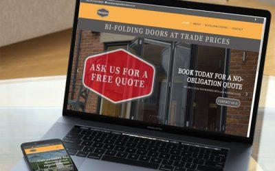 New business-startup website for Warmglaze Fabrications Ltd
